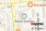 Схема проезда до компании Академия бизнеса и администрирования в Алматы