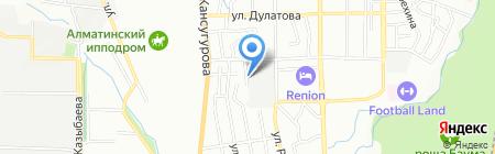 СМУ-ТелефонСтрой на карте Алматы