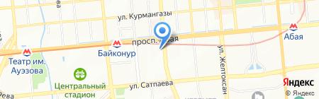 Valtec Auto на карте Алматы