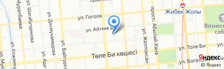 Международный медицинский торговый дом на карте Алматы