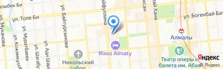 Упаковка и сервис-Казахстан ТОО на карте Алматы