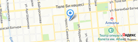 Very.kz на карте Алматы