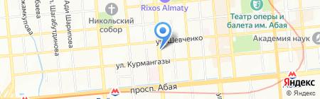 Арсенал-Exchange на карте Алматы
