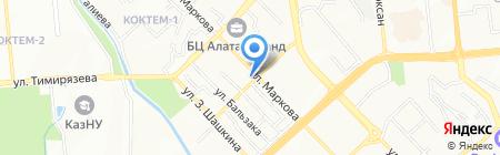 Гейзер на карте Алматы