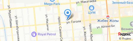 ИНТЕРТОП на карте Алматы