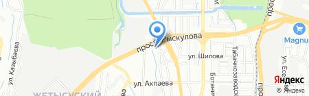 Japan Bikes на карте Алматы