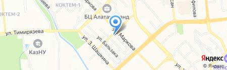 Бэби-Интерскул на карте Алматы
