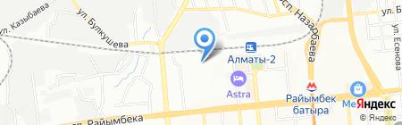 Kaztab на карте Алматы