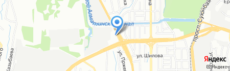 Даниял на карте Алматы