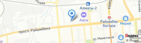 VIP Parquet на карте Алматы