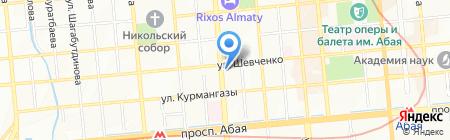 АБК на карте Алматы