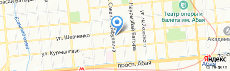 LV Travel на карте Алматы