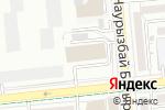 Схема проезда до компании Банкомат, Евразийский банк в Алматы