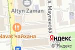 Схема проезда до компании PalaMara в Алматы