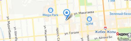 Жемчужина Желаний на карте Алматы