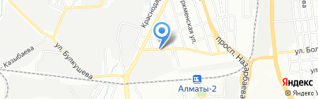 Кит-Казахстан на карте Алматы