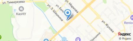 Малика на карте Алматы