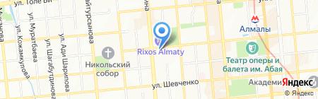 Brux на карте Алматы