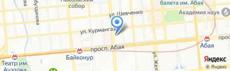 ProDanceShop магазин одежды и обуви для танцев на карте Алматы
