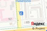 Схема проезда до компании Porte в Алматы