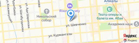 VIS-A-VIS.RA на карте Алматы