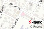 Схема проезда до компании ЮНОНА в Алматы