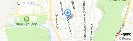 Общеобразовательная школа №106 на карте Алматы