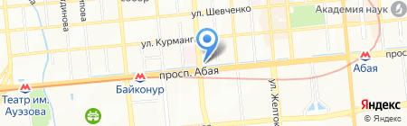 Белоснежка магазин на карте Алматы