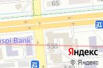 Схема проезда до компании Arismus в Алматы
