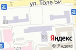 Схема проезда до компании Институт математики, физики и информатики в Алматы