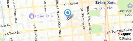Адвокатский кабинет Исмаиловой Ш.В. на карте Алматы