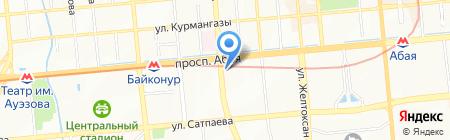 Кишлак на карте Алматы
