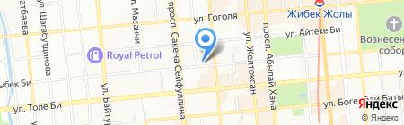 Риэл-Сити ТОО на карте Алматы