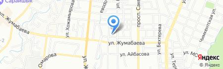 Общеобразовательная школа №49 на карте Алматы