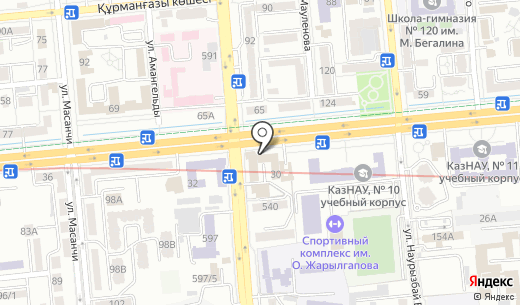 Fruit Fashion. Схема проезда в Алматы