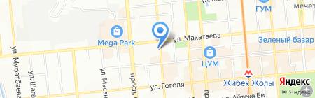 ЛЮКС айя на карте Алматы