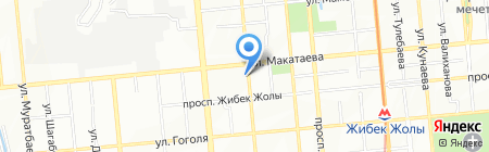 RelaxSan на карте Алматы