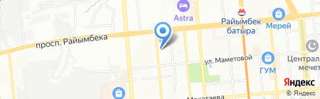 L`oreal Kazakhstan ТОО на карте Алматы
