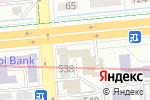 Схема проезда до компании РЫБАРИС в Алматы