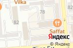 Схема проезда до компании Open Mind в Алматы