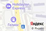 Схема проезда до компании Z-Viva в Алматы