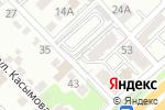 Схема проезда до компании TL-print studio в Алматы