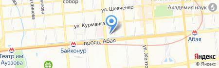 Лекко на карте Алматы