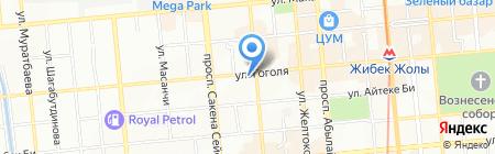Евроаптека на карте Алматы