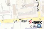 Схема проезда до компании English Academy в Алматы
