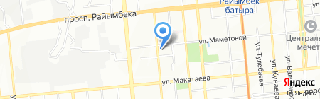 Хозяюшка Оптовка на карте Алматы
