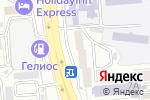 Схема проезда до компании Arabica Cafe в Алматы