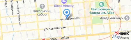 Дар на карте Алматы