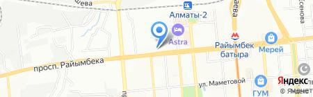 Темир-39 на карте Алматы