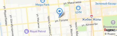 Habibi на карте Алматы